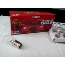 Лампа двухконтактная SCT P21/5W 12V21/5W BAY15d