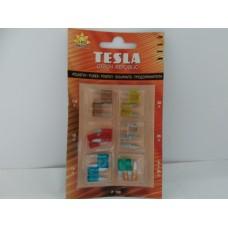 Набор предохранителей LED к-т 6 шт (пр-во TESLA)