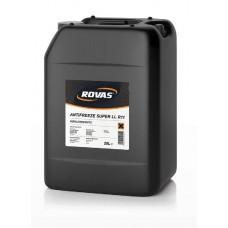 Концентрированная охлаждающая жидкость антифриз СИНИЙ Rovas Antifreeze LL R11 20L  цена за 1 литр