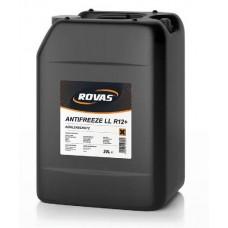 Концентрированная охлаждающая жидкость антифриз КРАСНЫЙ  Rovas Antifreeze LL R12+  цена за 1 литр