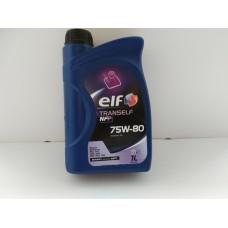 Масло трансм синтетика  ELF 75W80 NFP 1L