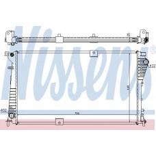 Радиатор, охлаждение двигателя NISSENS RENAULT TRAFIC