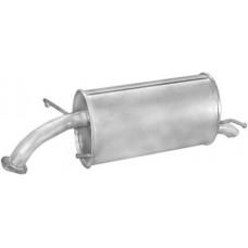 Глушитель выхлопных газов конечный наклонная задн часть POLMO AVEO