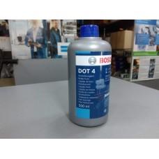 Жидкость тормозная 0,5л (пр-во BOSCH)  DOT4,DOT-4, ДОТ4, ДОТ-4