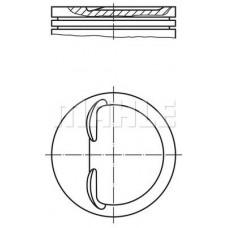 Поршень цилиндра ВАЗ 2108/2109 1,5 d=82,4 (пр-во Mahle)